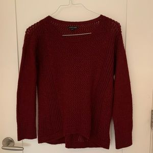Eileen Fisher light alpaca wool sweater (XS)